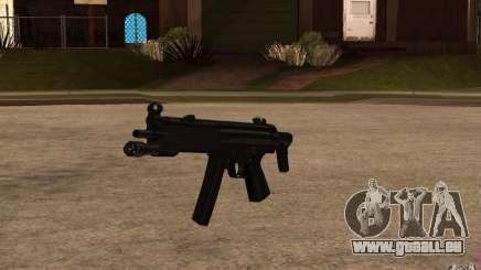 Neue MP5 mit Taschenlampe für GTA San Andreas