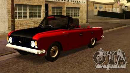 Moskvitch 412 Cabrio pour GTA San Andreas