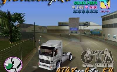 Mercedes-Benz Actros pour GTA Vice City