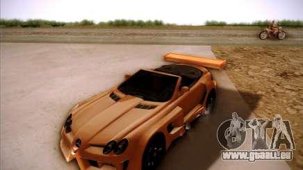 Mercedes-Benz SLR-Mclaren 722 Cabrio Tuned pour GTA San Andreas