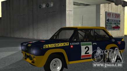 Fiat 131 Rally pour GTA San Andreas