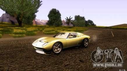 Lamborghini Miura Concept für GTA San Andreas