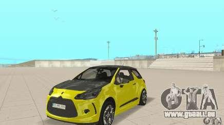 Citroen Ds3 Sport 2011 pour GTA San Andreas