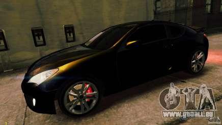 Hyundai Genesis Coupe 2010 pour GTA 4