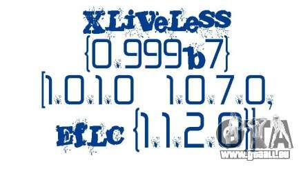 XLiveLess 0.999b7 [1.0.1.0-1.0.7.0,EfLC 1.1.2.0] pour GTA 4