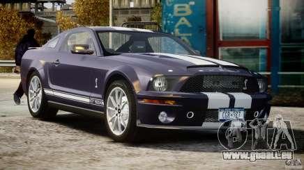 Shelby GT500KR 2008 pour GTA 4