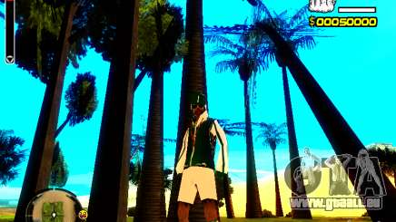 Peau bum v5 pour GTA San Andreas