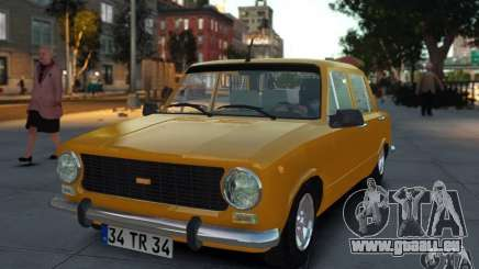 Fiat 124 pour GTA 4