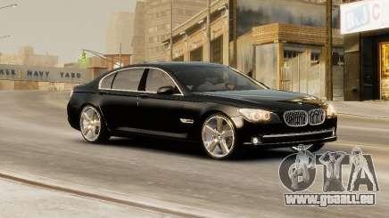 BMW 750 LI 2010 pour GTA 4
