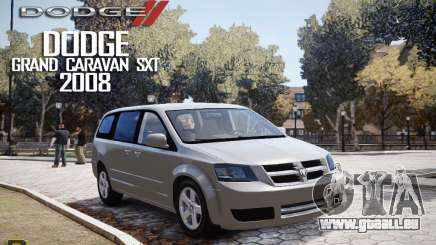 Dodge Grand Caravan SXT 2008 pour GTA 4