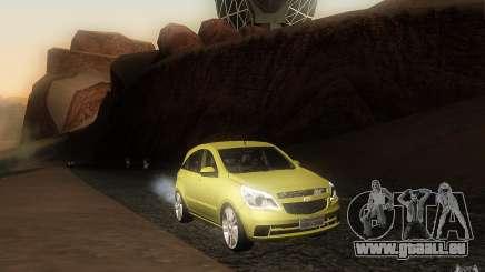 Chevrolet Agile 2012 pour GTA San Andreas