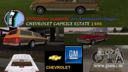 Chevrolet Caprice Estate 1986 für GTA Vice City