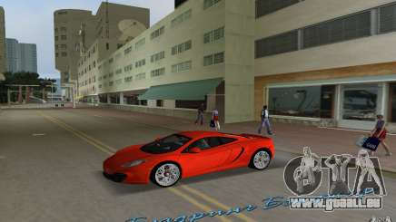 Mclaren MP4-12C pour GTA Vice City