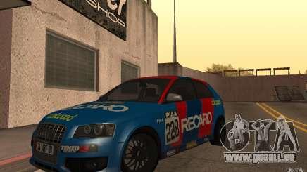 Audi S3 Tunable für GTA San Andreas
