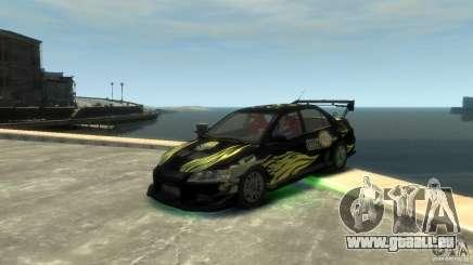 Mitsubishi EVO IX für GTA 4