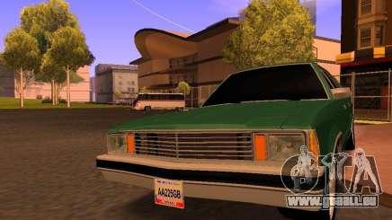 Chevrolet Malibu 1980 pour GTA San Andreas