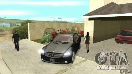 Mercedes-Benz CL500 für GTA San Andreas