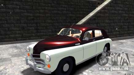 FSO Warszawa M20 201 pour GTA 4