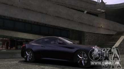 Hyundai Genesis Coupe 2013 pour GTA 4