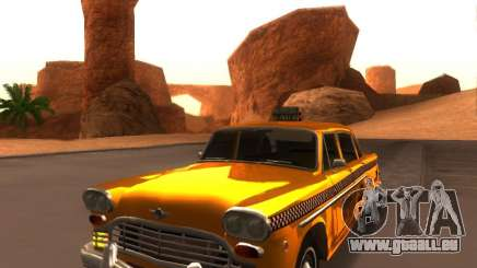 Checker Marathon Yellow CAB für GTA San Andreas