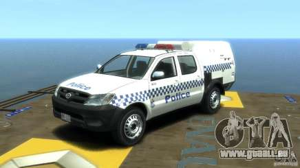 Toyota Hilux Australian Police ELS für GTA 4