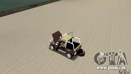 Jeep Wrangler 1986(2) für GTA San Andreas
