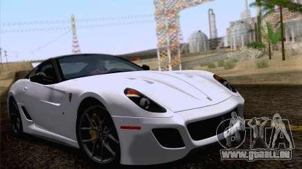 Ferrari 599 GTO 2011 v2.0 pour GTA San Andreas