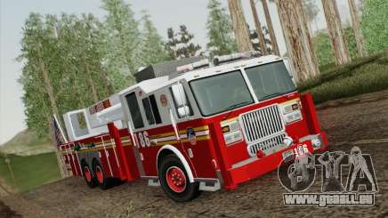 Seagrave Marauder. F.D.N.Y. Tower Ladder 186 für GTA San Andreas