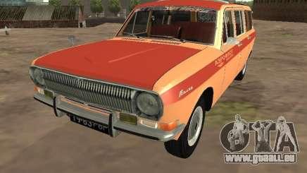 GAZ-24 Volga AEROFLOT 02 für GTA San Andreas