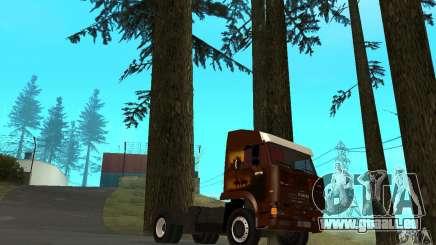 KAMAZ 5460 4 peau pour GTA San Andreas