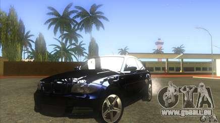 BMW 135i (E82) pour GTA San Andreas