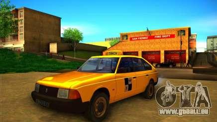Taxi AZLK 2141 pour GTA San Andreas