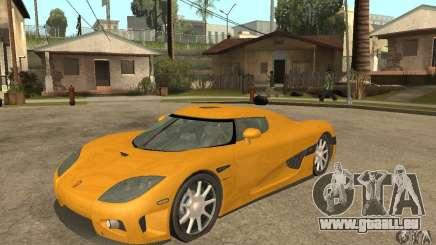 Koenigsegg CCX (v1.0.0) pour GTA San Andreas