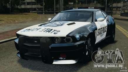NFSOL State Police Car für GTA 4