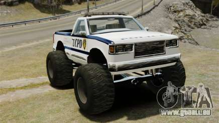 COP Monster Truck ELS pour GTA 4