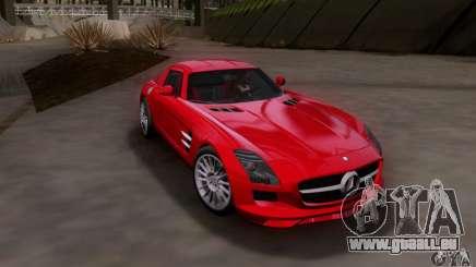 Mercedes-Benz SLS AMG V12 TT Black Revel für GTA San Andreas