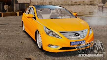 Hyundai Sonata 2011 v2.0 pour GTA 4