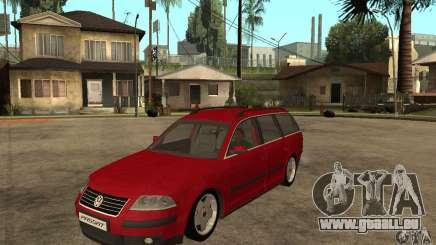 VW Passat B5+ Variant pour GTA San Andreas