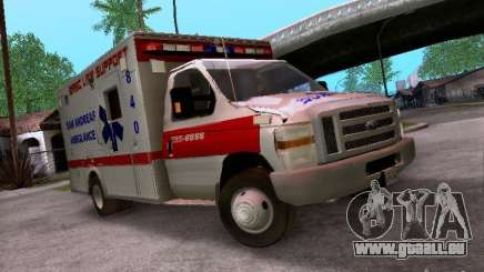 Ford E-350 Ambulance v2.0 für GTA San Andreas