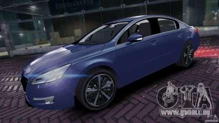 Peugeot 508 Final pour GTA 4