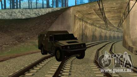 Hummer H2 Army pour GTA San Andreas