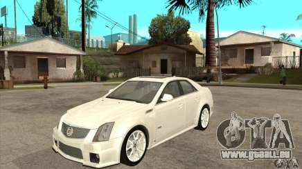 Cadillac CTS-V 2009 v2.0 pour GTA San Andreas