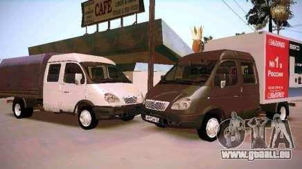 Gazelle 33023 pour GTA San Andreas