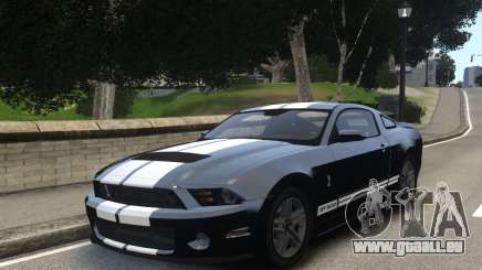 Ford Shelby GT500 2010 WIP pour GTA 4