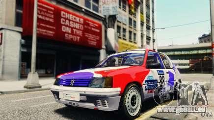 Peugeot 205 Rally für GTA 4
