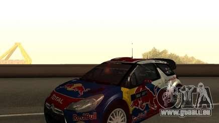 Citroen DS3 WRC pour GTA San Andreas