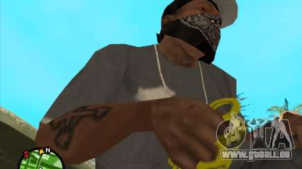 Or brass knuckles pour GTA San Andreas