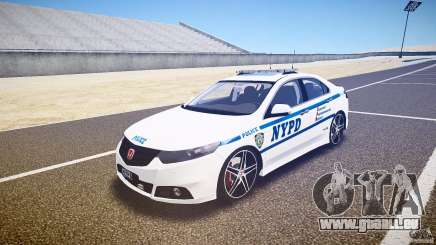 Honda Accord Type R NYPD (City Patrol 1090) ELS pour GTA 4