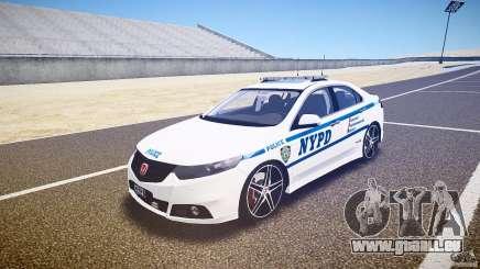 Honda Accord Type R NYPD (City Patrol 1090) ELS pour GTA 4