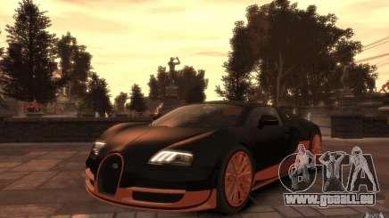 Bugatti Veyron Super Sport 2010 für GTA 4